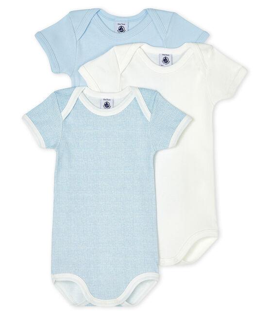 Trio de bodies manches courtes bébé lot .