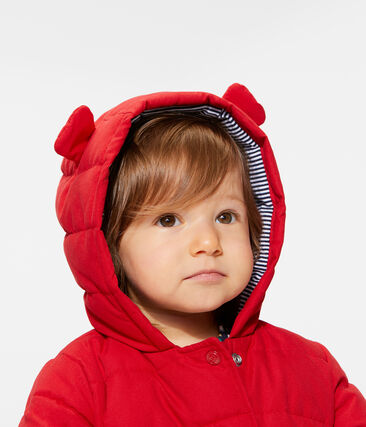 Doudoune bébé fille en microfibre