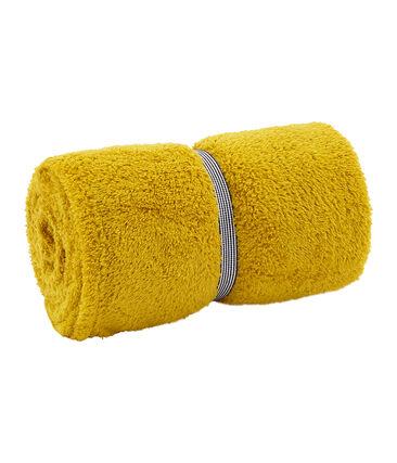 Serviette de bain enfant /adulte mixte jaune Bamboo