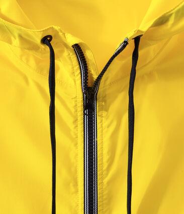 Coupe-vent court mixte jaune Jaune
