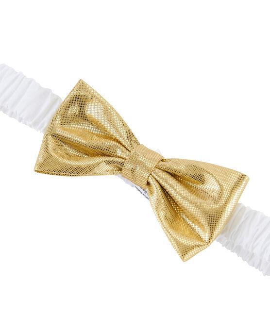 Bandeau cheveux enfant fille blanc Marshmallow