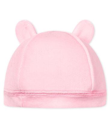 Bonnet naissance bébé mixte velours