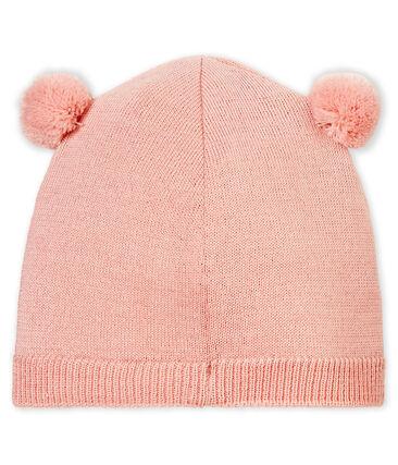 Bonnet bébé mixte rose Joli