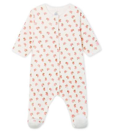 Bodyjama bébé fille en velours