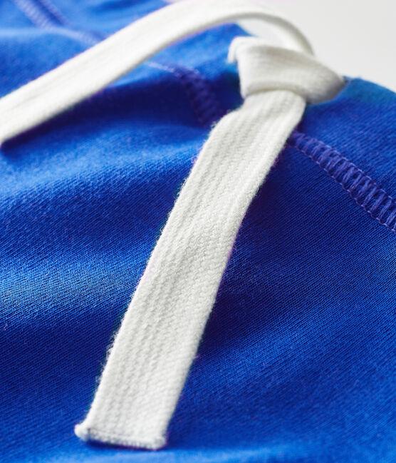 Short bébé mixte uni bleu Surf
