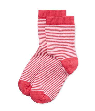Chaussettes enfant rayées milleraies
