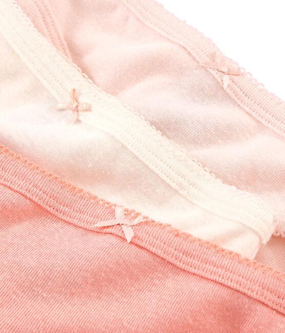 Trio de culottes petite fille en coton et lin lot .