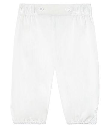 Pantalon bébé garçon de cérémonie en popeline unie