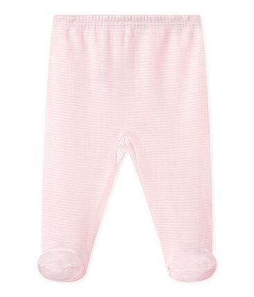 Pantalon à pieds bébé fille