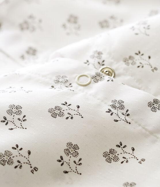 Combicourt bébé fille blanc Marshmallow / blanc Multico