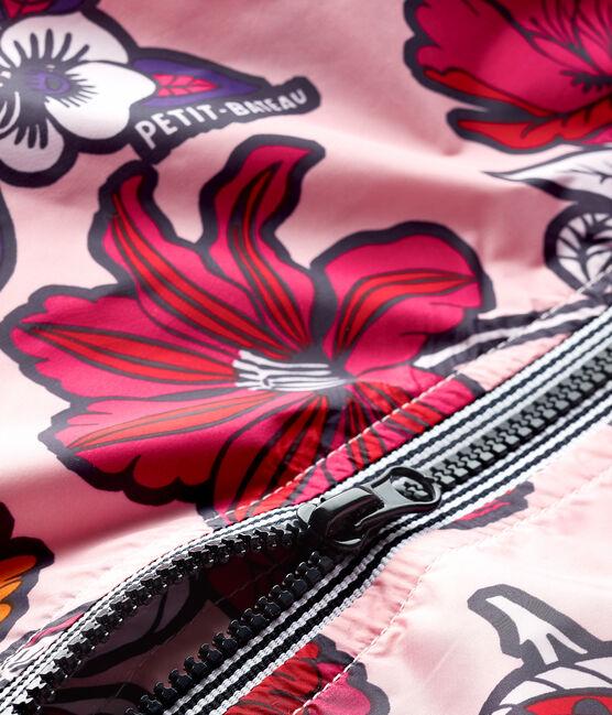 Coupe-vent anti-UV UPF 50+ bébé mixte rose Patience / blanc Multico