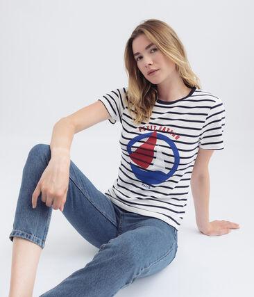 Tee shirt rayure marinière pour femme