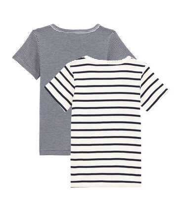 Duo de tee-shirts manches courtes fille