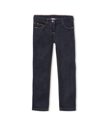 Pantalon denim enfant fille bleu Jean