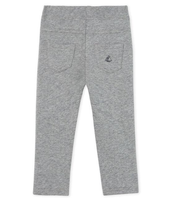 Pantalon bébé garçon en molleton chaud gris Subway