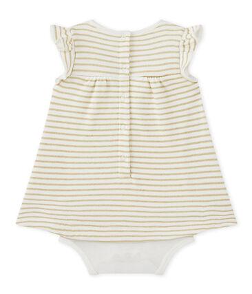 Robe body bébé fille à rayures