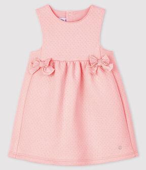 Robe sans manches bébé fille rose Minois