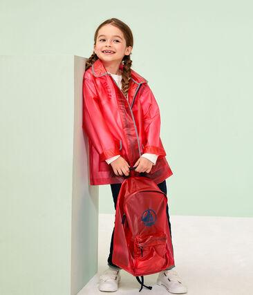 Ciré enfant fille et garcon rouge Geisha