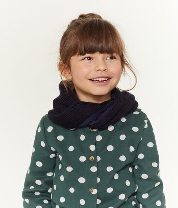 Snood enfant mixte bleu Smoking
