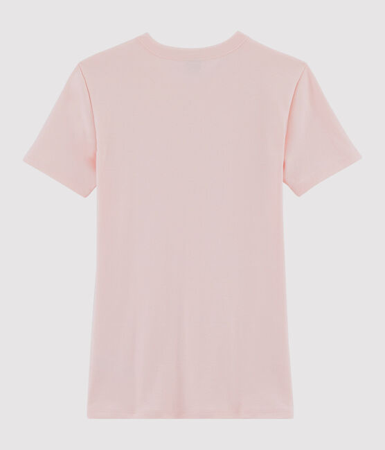 Tee shirt iconique femme rose Minois