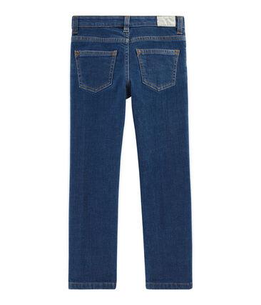 Pantalon denim enfant garcon bleu Denim Moyen