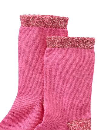 Chaussettes fille unies