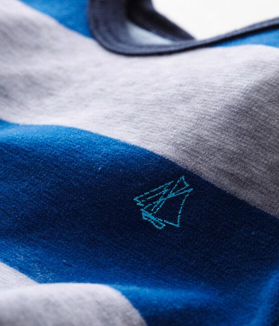 Dors bien bébé garçon bleu Limoges / gris Poussiere