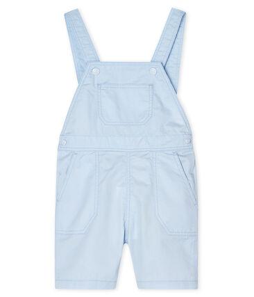 Salopette courte bébé garçon bleu Fraicheur