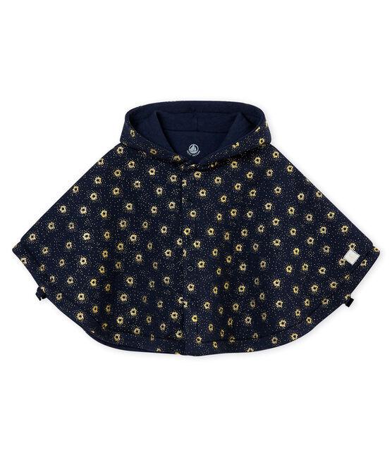Cape en tubique bébé mixte bleu Smoking / jaune Dore