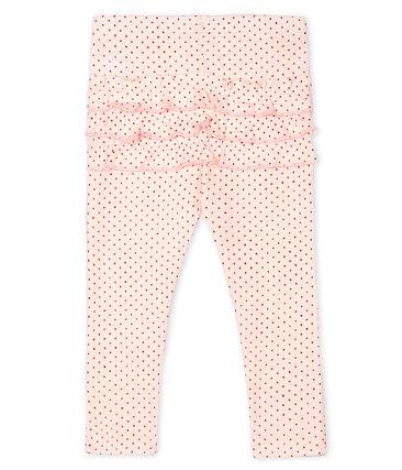 Legging imprimé bébé fille rose Fleur / rose Copper