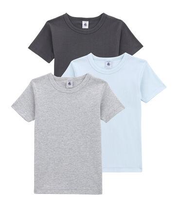 Trio de tee-shirts manches courtes petit garçon