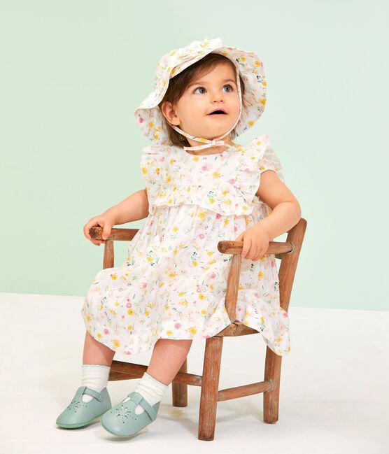 Capeline bébé fille lot .