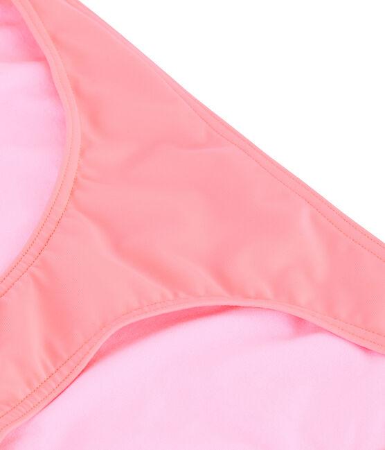 Bas de maillot de bain écoresponsable rose Fluo Rose