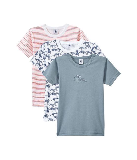 Lot de 3 t-shirts garçon manches courtes lot .