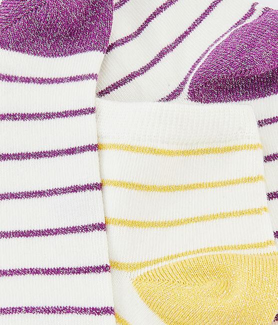 Lot de 2 paires de chaussettes femme lot .