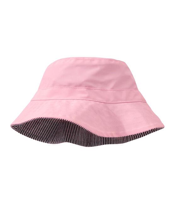 """Le chapeau de pluie """"Bob"""". rose Babylone"""