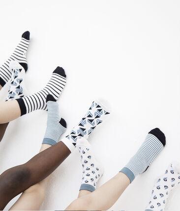 Semainier 5 paires de chaussettes enfant garçon