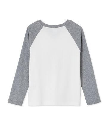 tee-shirtmanches longues garçon sérigraphié