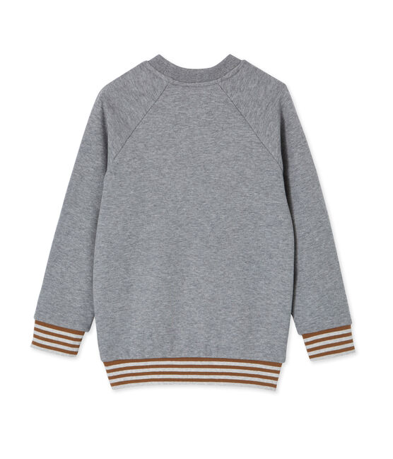 Sweat shirt enfant garçon gris Subway