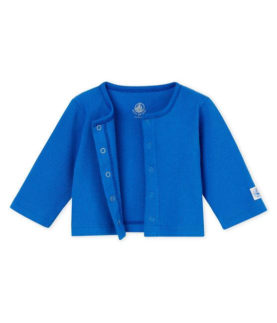 Cardigan bébé mixte bleu Cool