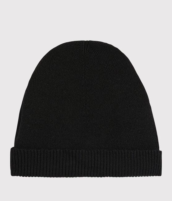 Bonnet en laine Femme noir Noir
