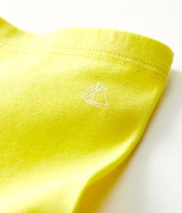 Legging bébé fille jaune Eblouis