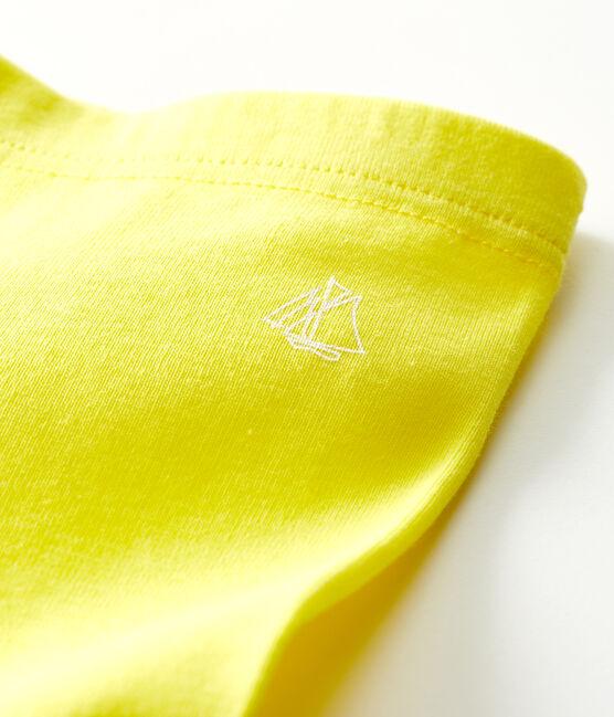 Legging bébé fille-garçon jaune Eblouis