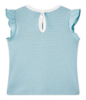 T-shirt bébé fille bleu Mimi