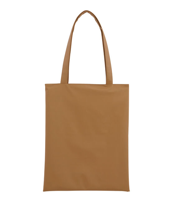Sac shopping uni marron Brindille