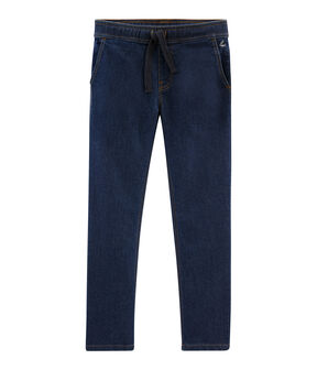 Pantalon en denim enfant garçon bleu Denim Bleu Fonce