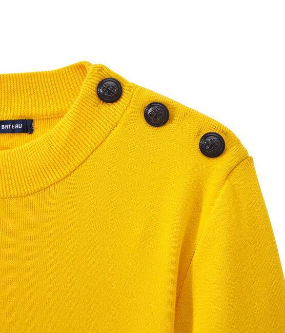 Pull marin femme jaune Shine