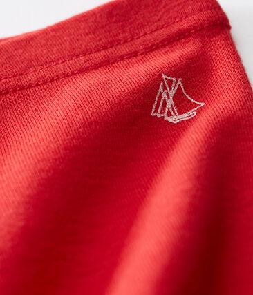 Legging bébé fille uni rouge Terkuit