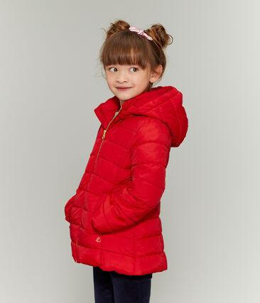 Doudoune enfant fille rouge Terkuit