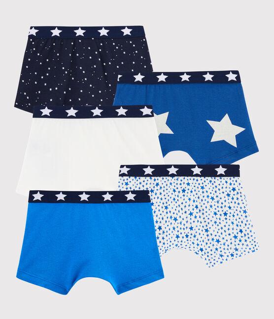 Lot de 5 boxers étoiles petit garçon lot .